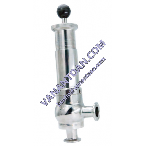 Safety valve for pressure cooker